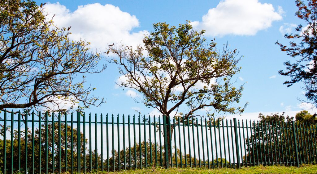 Mesh & Panels Perimeter Fence Installation 2